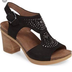 NWOB Dansko Deandra Heeled Leather Sandals